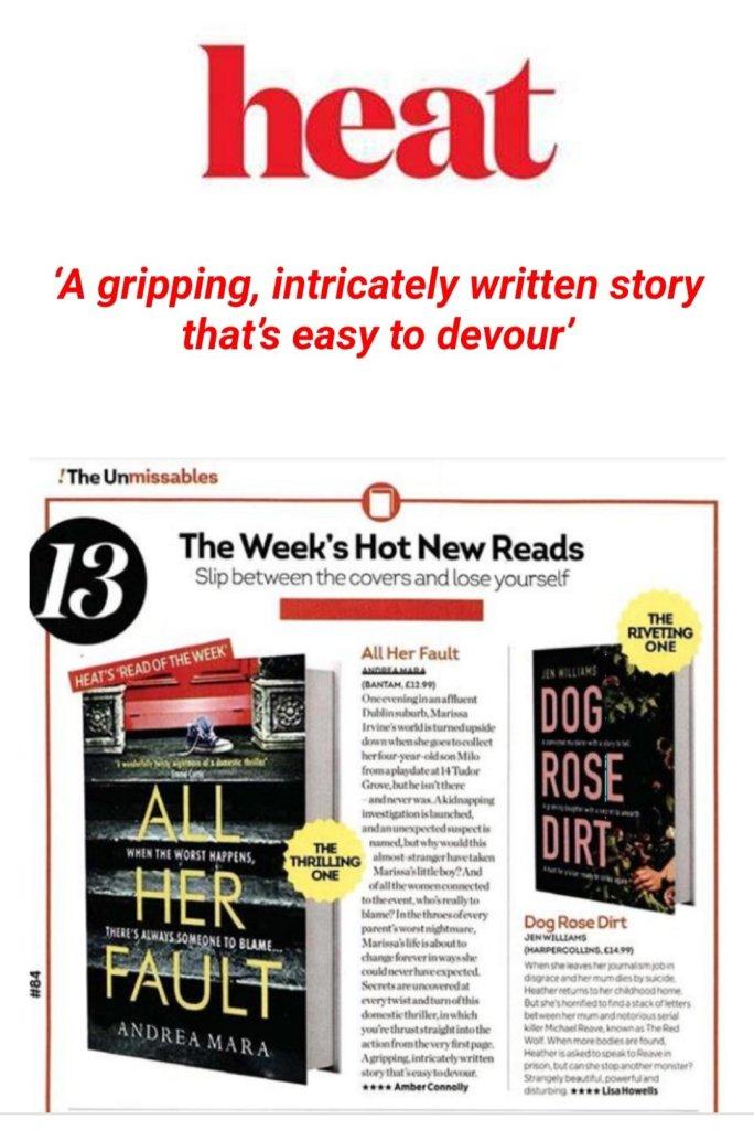 Andrea Mara All Her Fault Heat Magazine