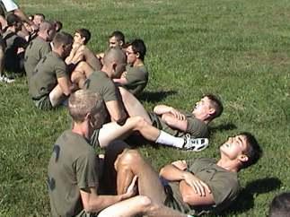 USMC crunches