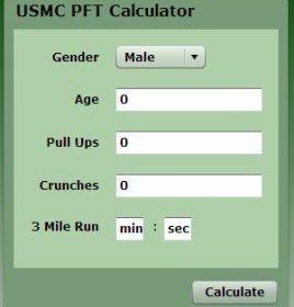 PFT Calculator