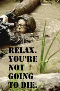 Relax. You're Not Going to Die.