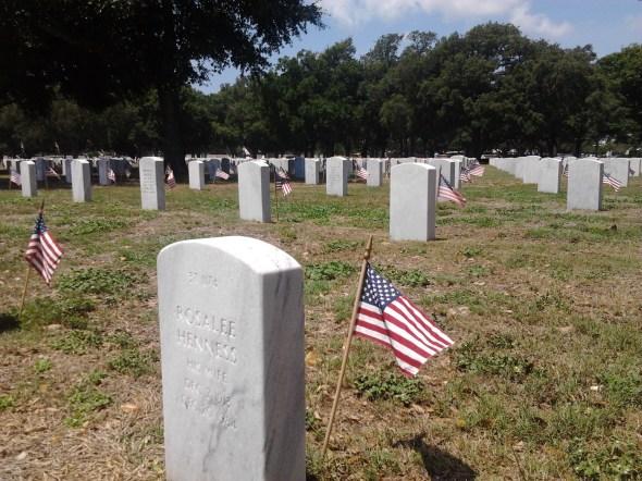 NAS Pensacola barrancas national cemetery