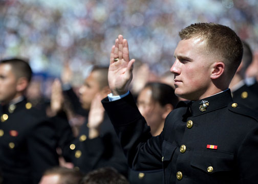 The oath of office ocs blog - Officer training school marines ...