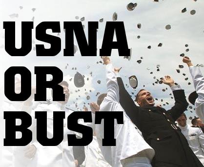 USNA or bust