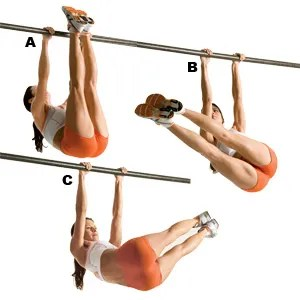 Windshield wipers help two PFT components: abs and grip strength for pullups