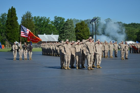 USMC OCS Graduation Ceremony
