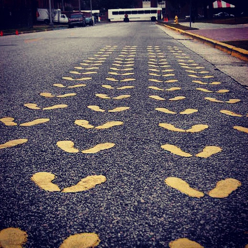 If standing on yellow footprints at Parris Island is your goal, then make it your single-minded goal