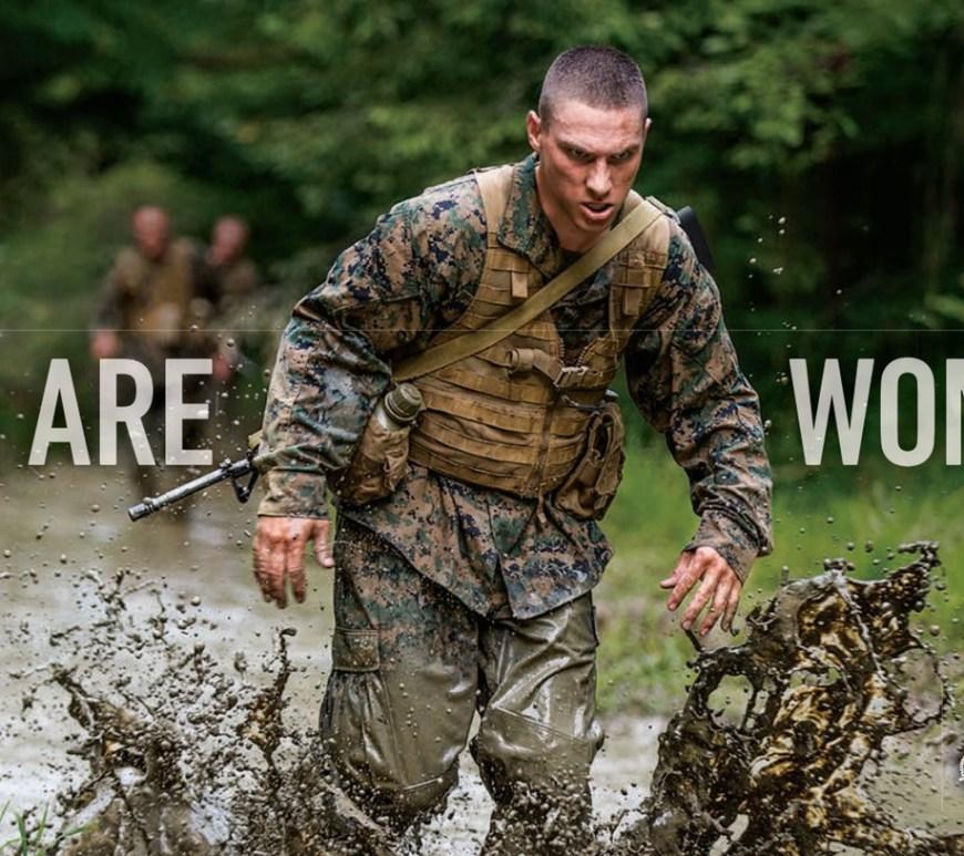 Battles Won Marine Corps commercial