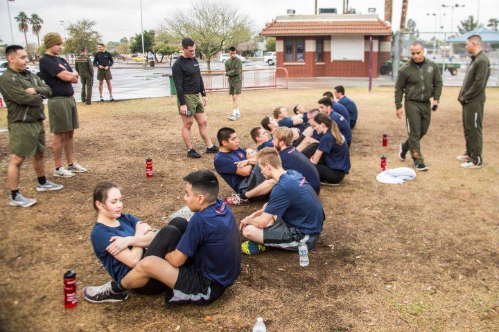 RS Phoenix tests its future Marines