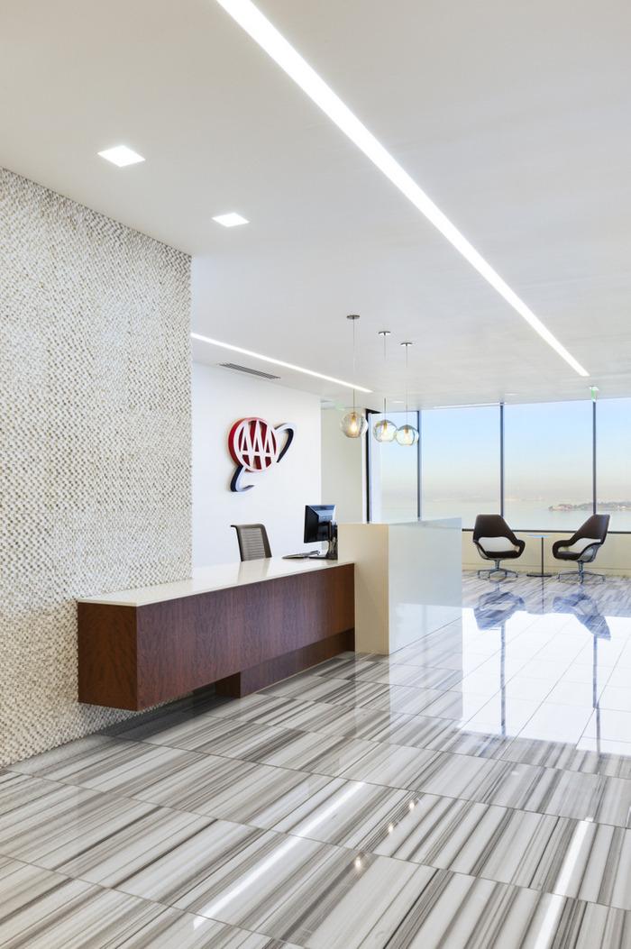 AAA Clubs Emeryville Headquarters Office Snapshots