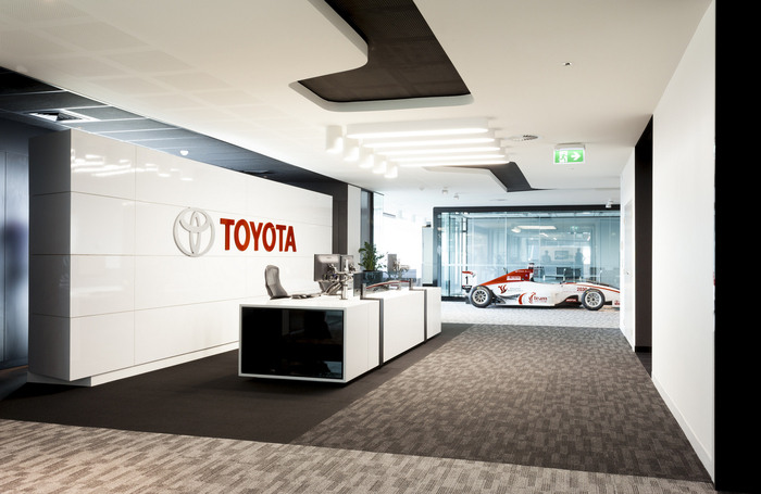 Toyota Auckland Offices Office Snapshots