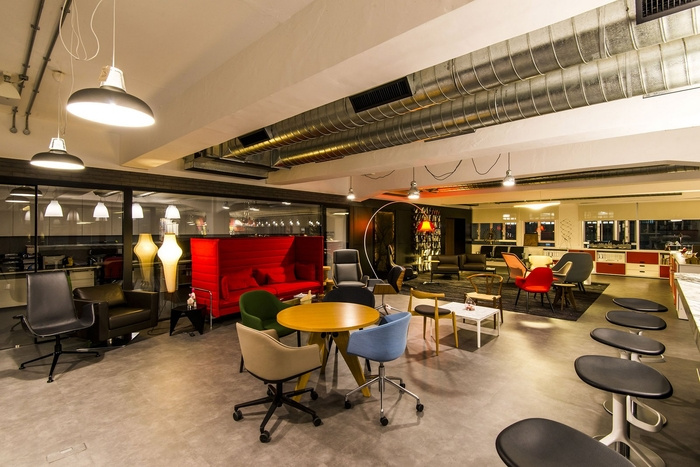JEB Group - 9F Showroom - Lounge Area 02