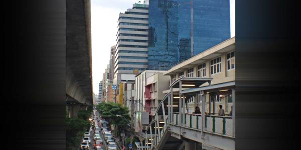 UBC 2 Building on Sukhumvit Soi 33 Road, near BTS Phrompong Station
