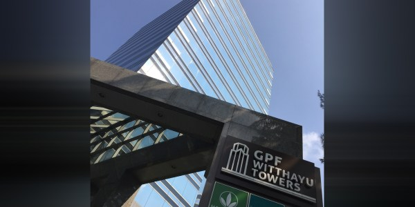 Office for rent at GPF Witthayu Towers, near BTS Ploenchit Station