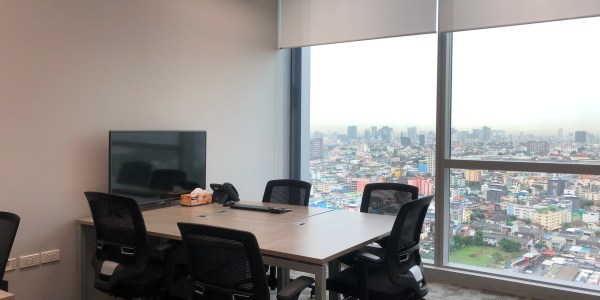 Fully Furnished Office in Ratchada at AIA Capital Center