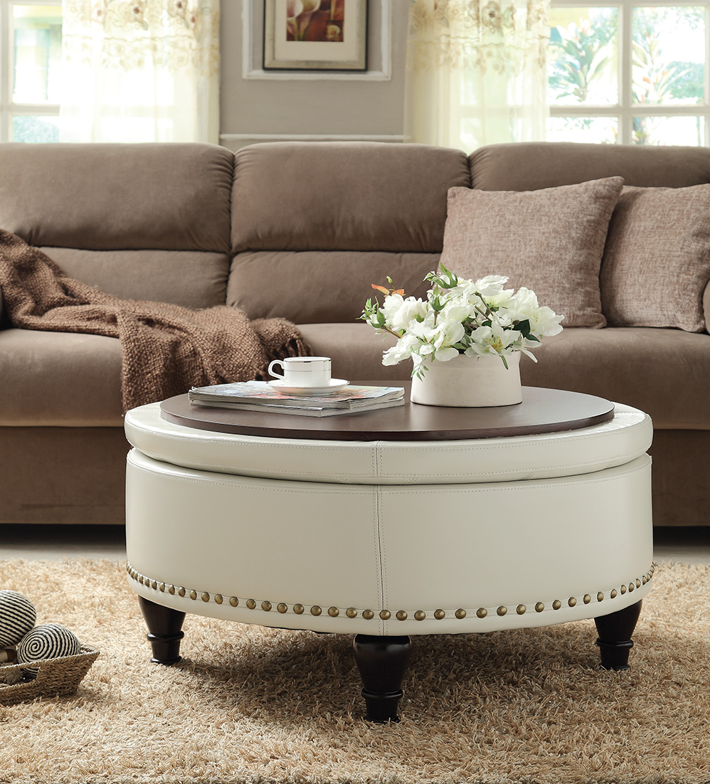 ottoman vs coffee table which is right