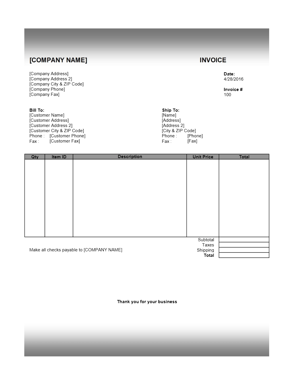 invoice template office. format free. invoice template office xlsx, Invoice templates