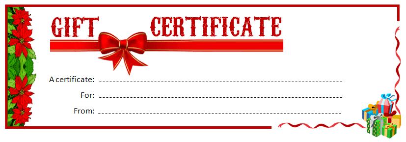 Gift Voucher Template Online make gift certificates best images – Online Certificates Templates