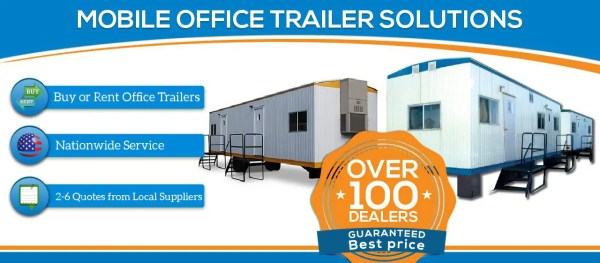 Mobile Office Trailer for Rent