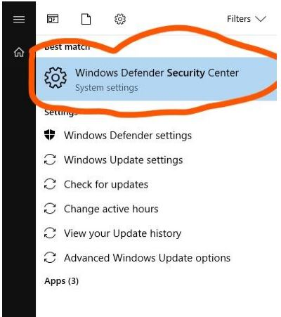 Windows Defender Security Center - KMS Auto Net Activator