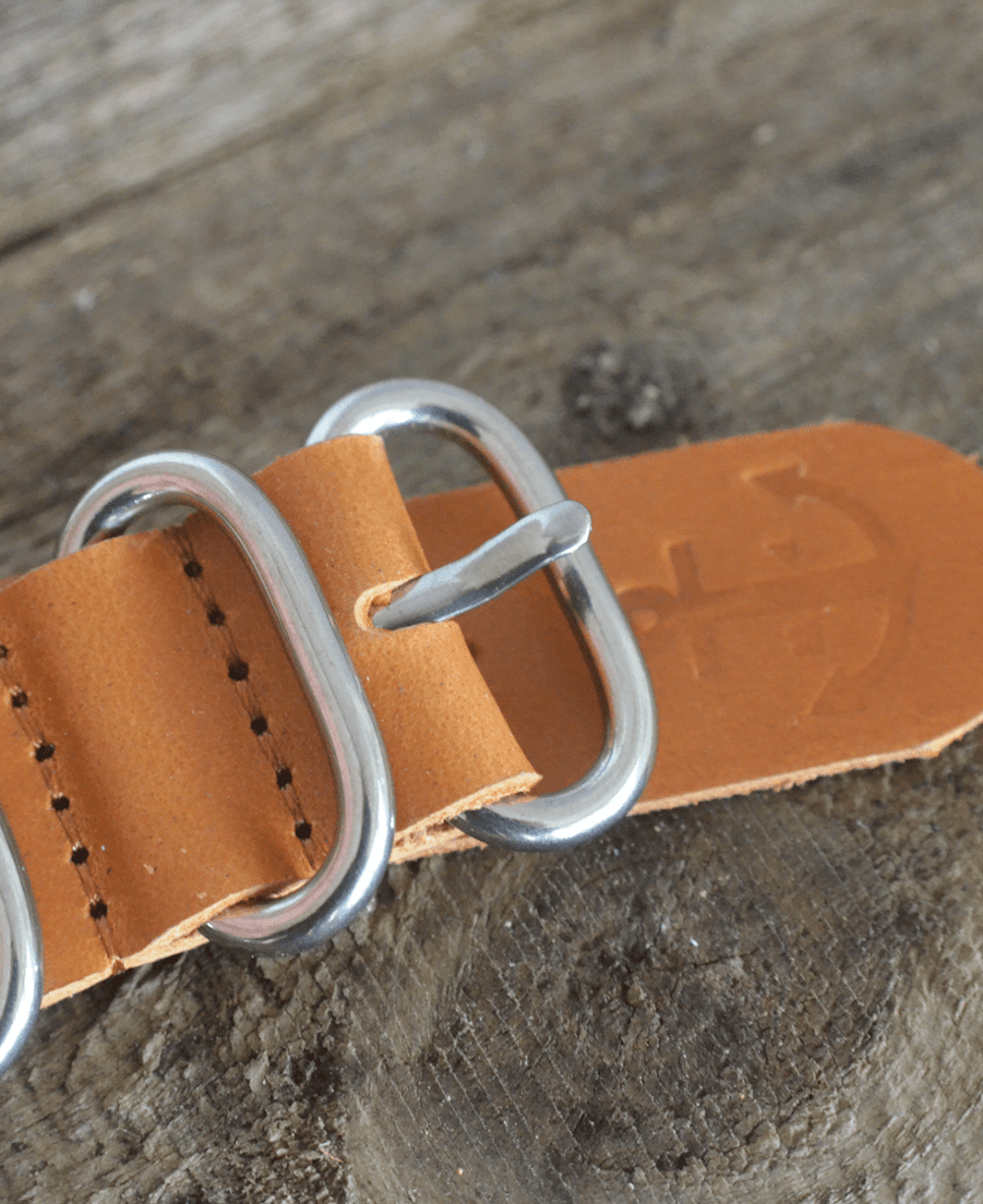 Pookwatches Leather Nato strap