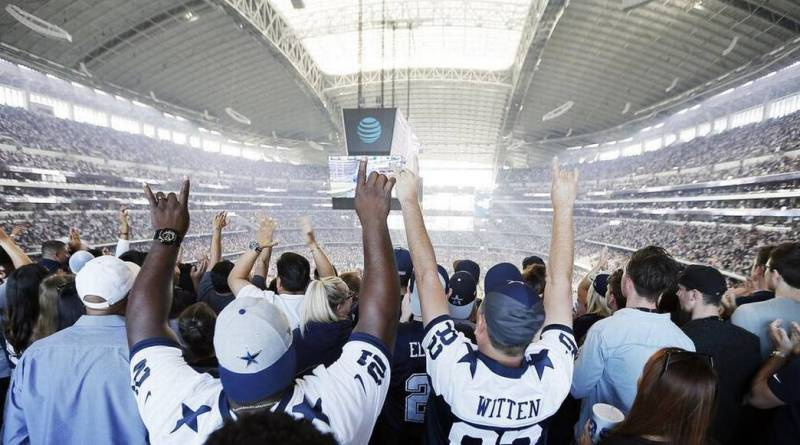 SRO, AT&T Stadium, Dallas Cowboys, OAT, Barry Gipson, Comcast Cowboy
