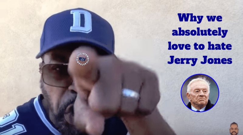 Jerry Jones, Love, hate, OAT, Shango, Barry Gipson