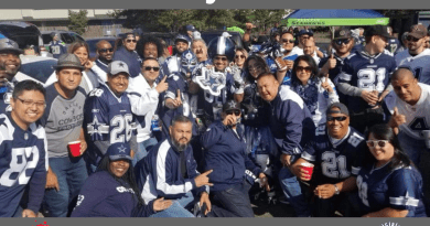 Seattle Tailgate, Cowboys Fans, OAT, Barry Gipson, Comcast Cowboy