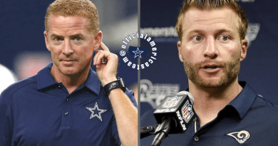 Jason Garrett, Sean McVay, Barry Gipson, OAT, Leadership, Comcas, t Cowboy, Dallas Cowboys