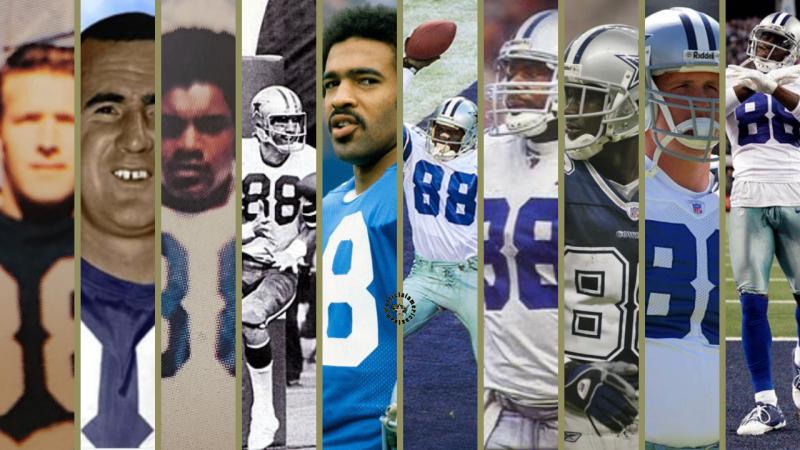 88 legacy lineage Dallas Cowboys Drew Pearson Original 88, HBO HARD KNOCKS