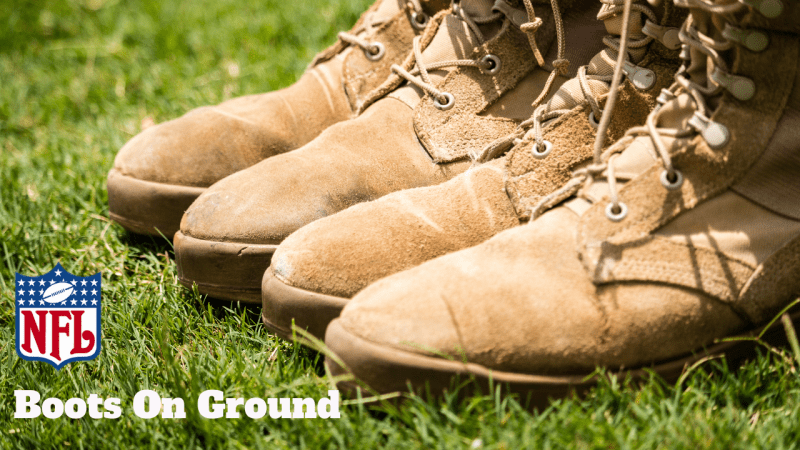 NFL Boots On Ground