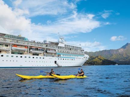 paul gauguin cruises cruise ship port exterior