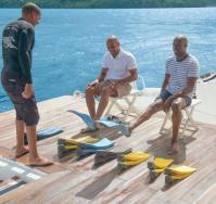 paul gauguin cruises cruise ship snorkel gear