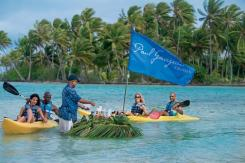paul gauguin cruises cruise ship kayaks