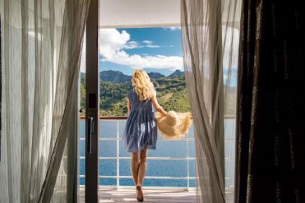 paul gauguin cruises cruise ship balcony view