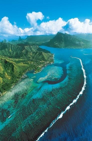 paul gauguin cruises cruise ship tahiti landscape