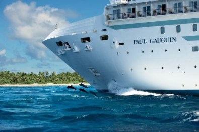 paul gauguin cruises cruise ship bow