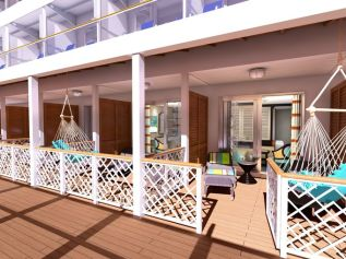 carnival cruises vista haven suite balcony