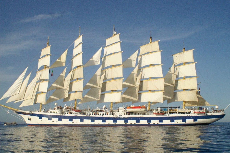 Royal Clipper Cruise of the Amalfi coast