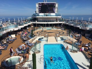 Princess Cruises Regal Princess main pool