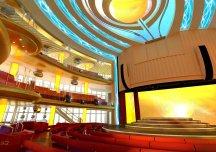 aidaprima cruise ship atrium