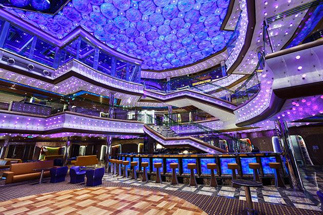 Costa Cruise Diadema cruise ship atrium bar