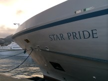 windstar cruises star pride bow