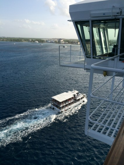 carnival cruise line breeze captain's bridge