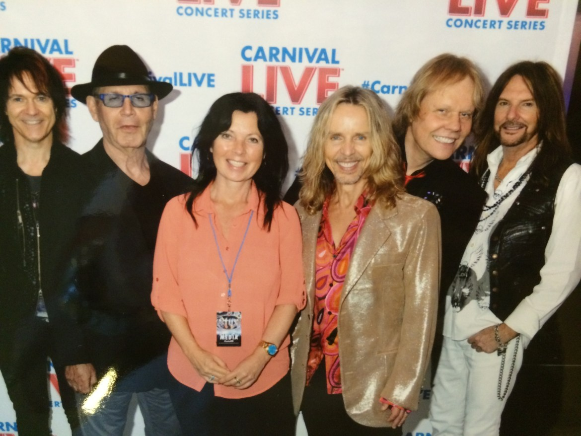 Rock the boat on a Carnival Live cruise with music artists