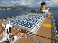Costa Cruise Diadema cruise ship retractable dome