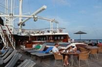 Windstar Cruises Star cruise ship top deck