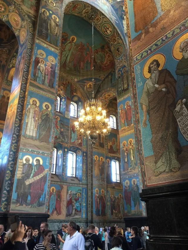 Holland America Eurdam Church of the Spilled Blood St. Petersburg, Russa