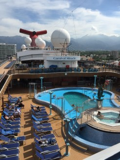 carnival cruises miracle pool hot tubs