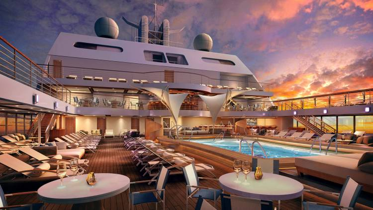 seabourn encore swimming pool