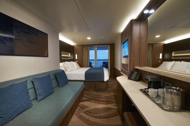 Norwegian cruises escape cruise ship balony cabin